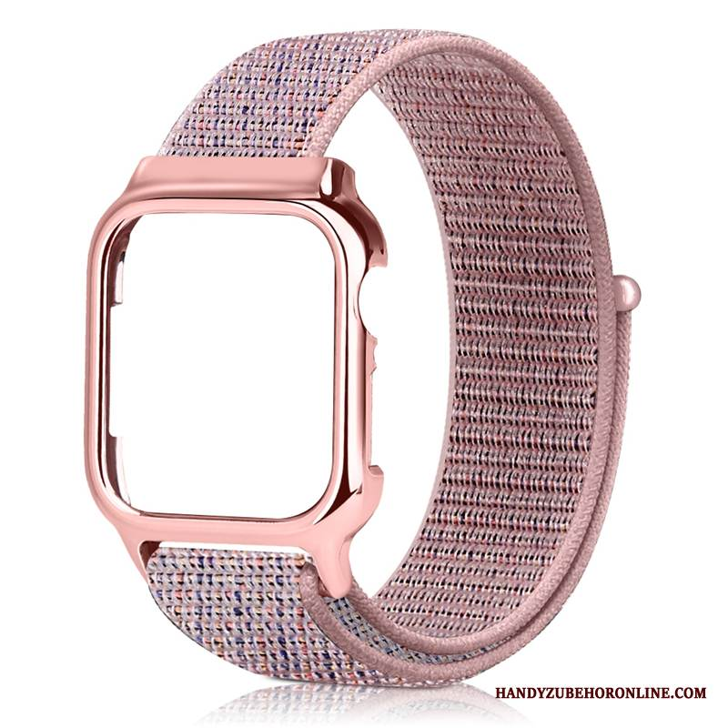 Case Apple Watch Series 1 Kreativ Rosa Persönlichkeit, Hülle Apple Watch Series 1 Trend Nylon