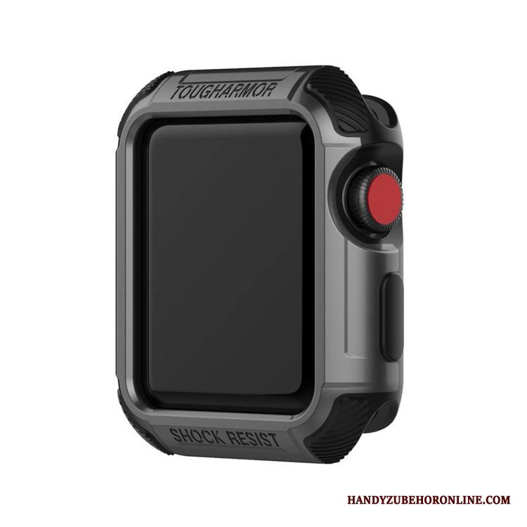 Case Apple Watch Series 1 Schutz Jeden Tag Schwarz, Hülle Apple Watch Series 1