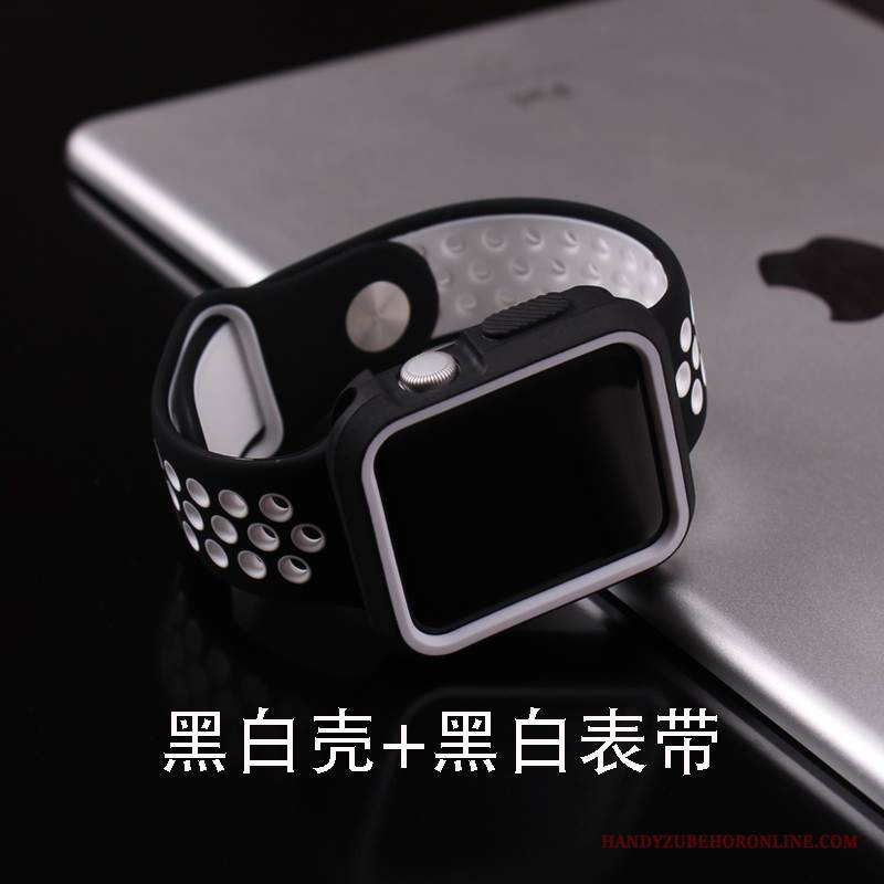 Case Apple Watch Series 1 Silikon Temperieren Trend, Hülle Apple Watch Series 1 Taschen Membran Anti-sturz