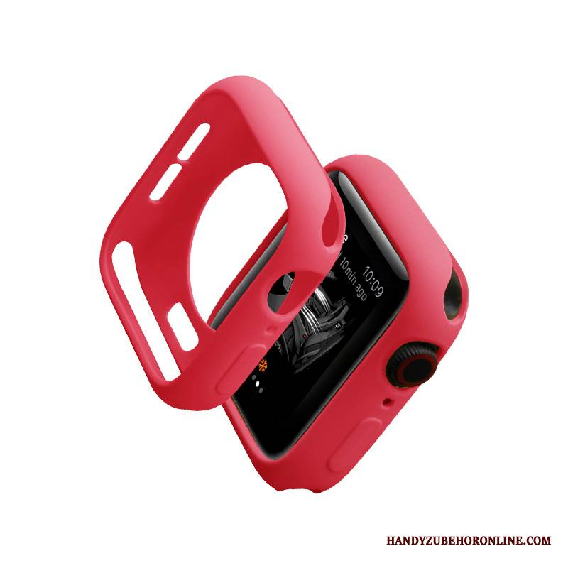 Case Apple Watch Series 1 Silikon Trendmarke Rot, Hülle Apple Watch Series 1 Schutz Schlank