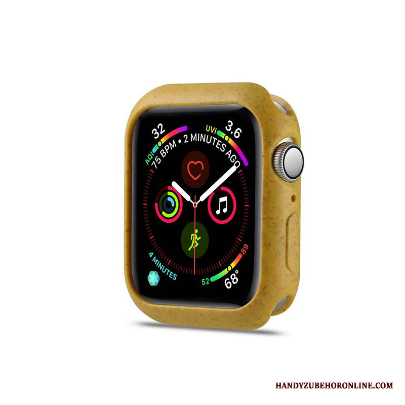 Case Apple Watch Series 1 Taschen Gelb Zitrone, Hülle Apple Watch Series 1 Schutz