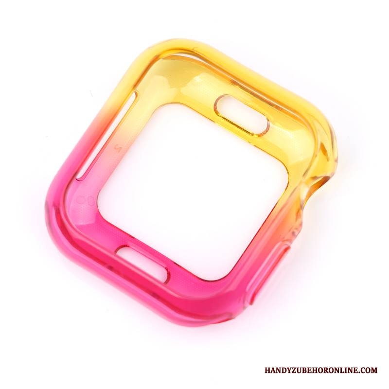 Case Apple Watch Series 4 Farbe Rosa, Hülle Apple Watch Series 4 Schutz