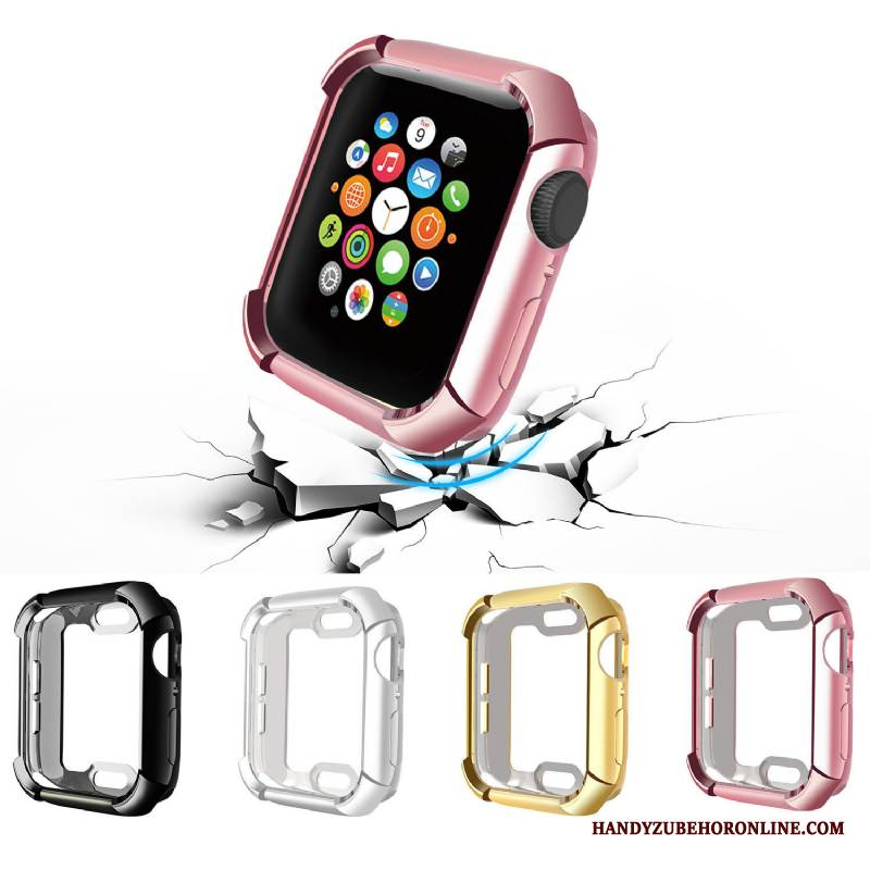 Case Apple Watch Series 4 Silikon Anti-sturz Zubehör, Hülle Apple Watch Series 4 Taschen Trend Kuh