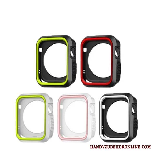 Case Apple Watch Series 4 Weiche Schwarz, Hülle Apple Watch Series 4