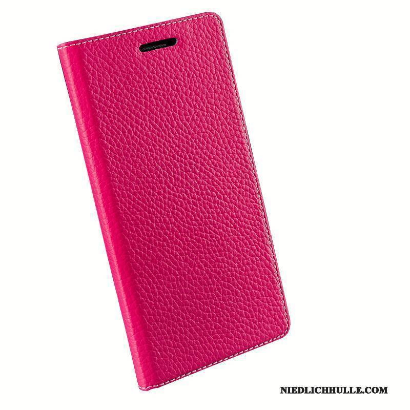 Case Lg Nexus 5x Schutz High-end Anti-sturz, Hülle Lg Nexus 5x Folio Handyhüllen Rot