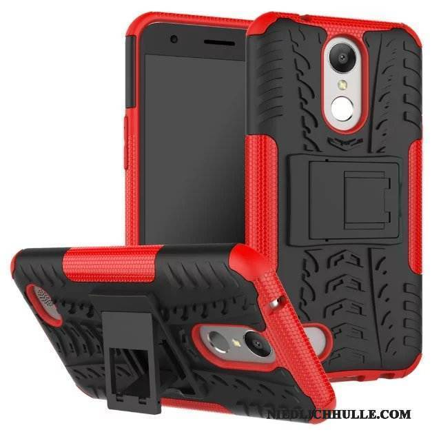 Case Lg X Power 2 Schutz Anti-sturz Rot, Hülle Lg X Power 2 Handyhüllen Muster