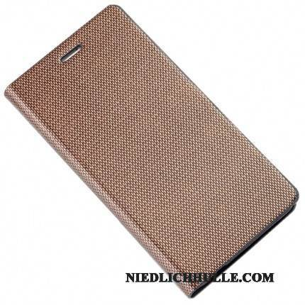 Case Samsung Galaxy A8+ Luxus Khaki Angepasst, Hülle Samsung Galaxy A8+ Folio Business Handyhüllen