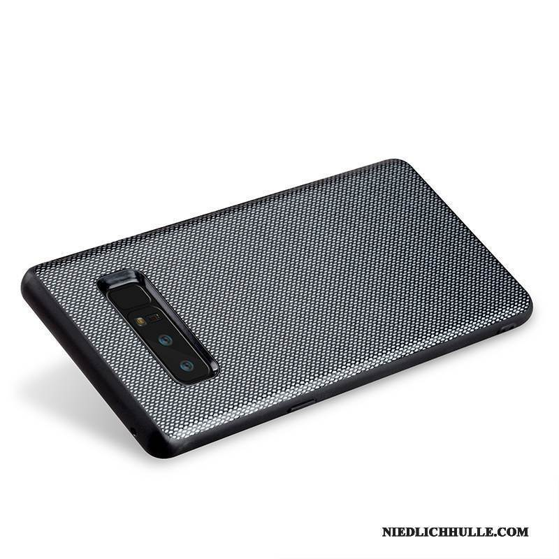 Case Samsung Galaxy Note 8 Leder Schwer Handyhüllen, Hülle Samsung Galaxy Note 8 Luxus Business Anti-sturz