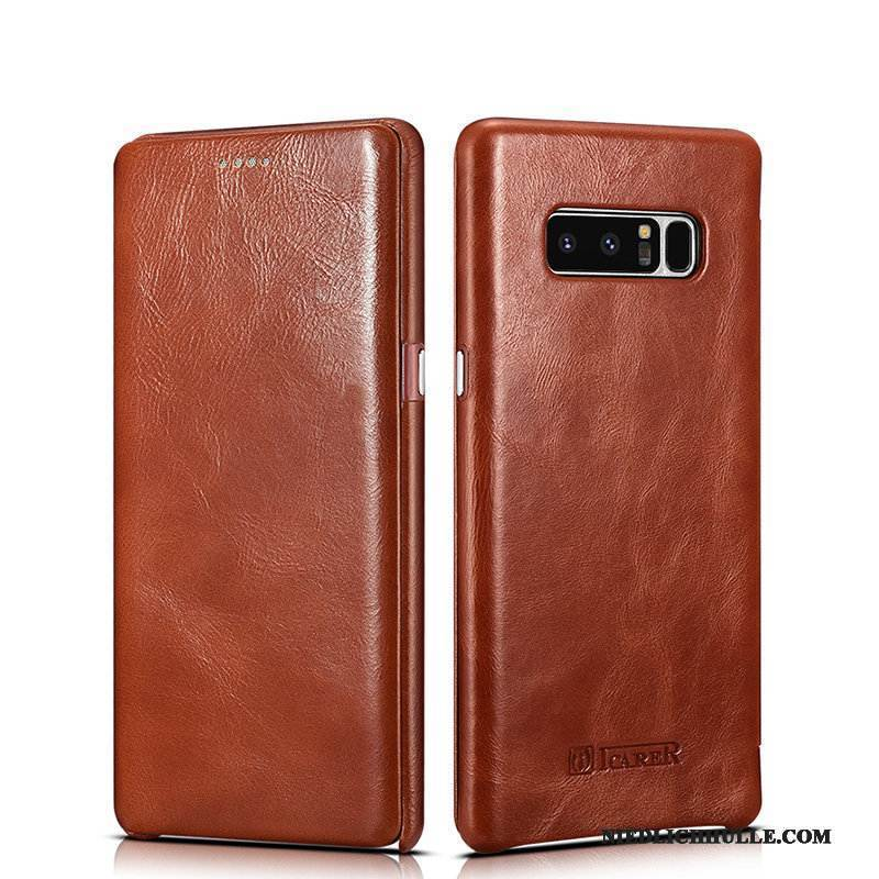 Case Samsung Galaxy Note 8 Taschen Business Handyhüllen, Hülle Samsung Galaxy Note 8 Folio